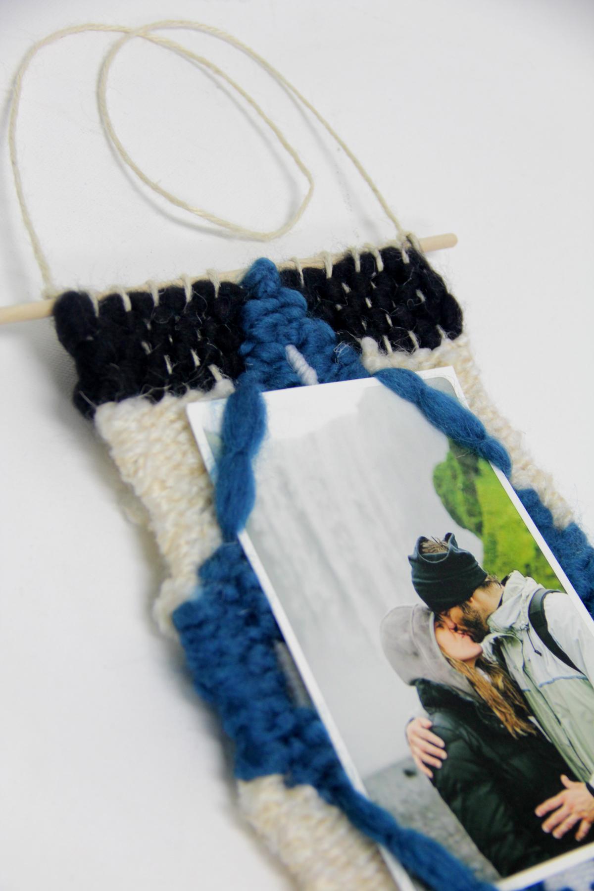 DIY Woven Frame - SnapBox Prints