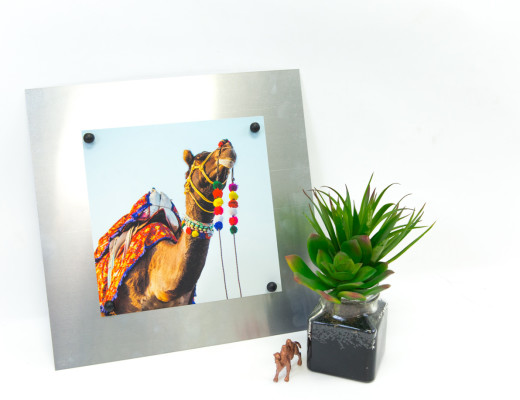 DIY Metal Sheet Photo Frame - Snaps: A Blog from SnapBox