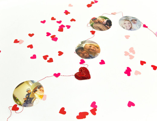 DIY Heart Garland - Snaps: A Blog from SnapBox