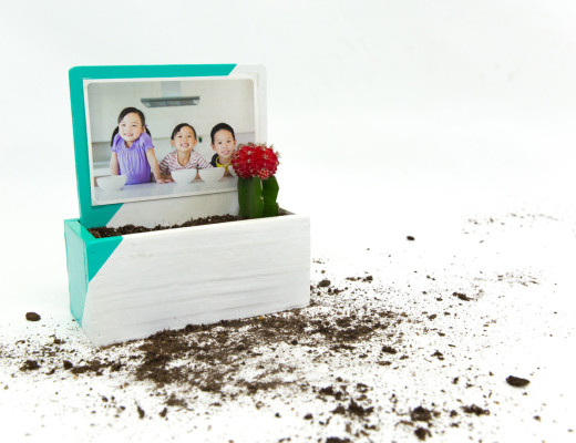DIY Photo Planter - Snaps: A Blog from SnapBox