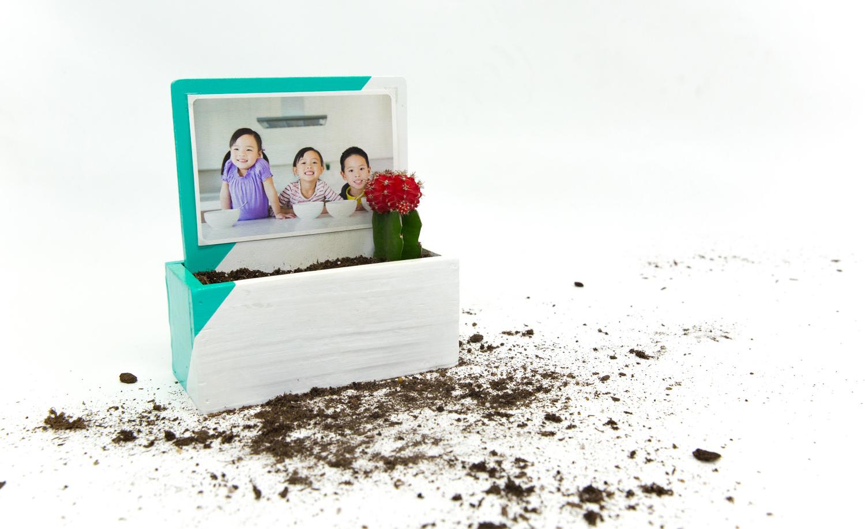 DIY Photo Planter - Snaps: A Blog from SnapBox