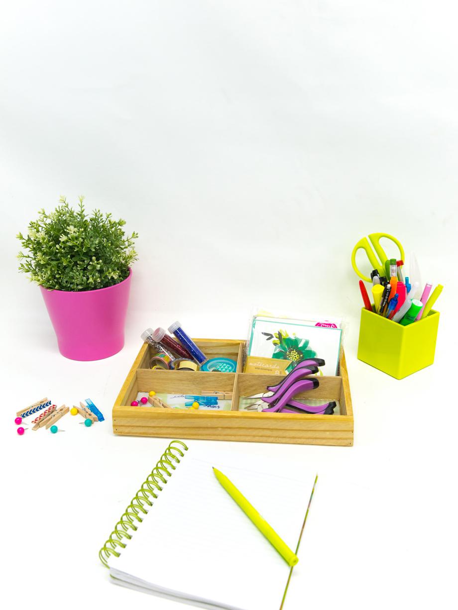 DIY Desk Organization - Snaps: A Blog from SnapBox